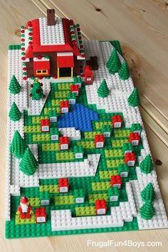 Make your own Lego advent calendar.
