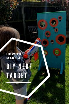 How to make a DIY Nerf target #nerf