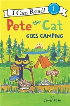 Buy Pete the Cat Goes Camping at Mighty Ape NZ. New York Times bestselling author and artist James Dean takes readers along for an outdoor adventure with Pete the Cat! In Pete the Cat Goes Camping,. Camping With Cats, Camping Books, Camping Theme, Go Camping, Camping Gifts, Family Camping, Camping Ideas, James Dean, New Books
