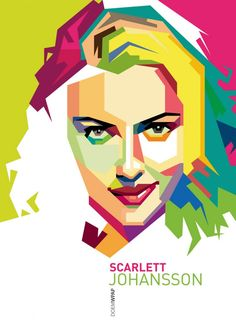 POP ART – WPAP Style (Wedha's Pop Art Portrait) by Dumas