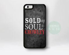 Crowley Supernatural iPhone Case Supernatural iPhone 6 Case Supernatural iPhone 5 Case iPhone 5s iPhone 5C Case Sam Dean Winchester
