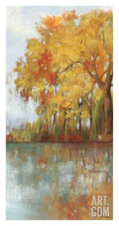 Forest Reflection I Art Print by Asia Jensen at Art.com