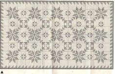 Loom Crochet, Filet Crochet, Crochet Doilies, Cross Stitch Borders, Cross Stitch Designs, Knitting Charts, Knitting Stitches, Embroidery Patterns, Crochet Patterns