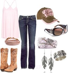 """""""Country time"""" by magiclips38 on Polyvore"""