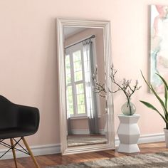 'Classic Retro Coffee, Espresso, Cappuccino, Latte and This House Runs on Love Laughter and a Whole Lot of Coffee' Graphic Art Print Set Tall Mirror, Leaning Mirror, Round Wall Mirror, Beveled Mirror, Modern Bedroom, Master Bedroom, Bedroom Decor, Bedroom Ideas, Master Suite