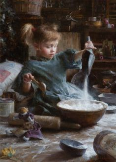 "Morgan Weistling (American, born 1964) ""Flour Child"""