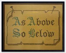As Above, So Below--Matt Benedict