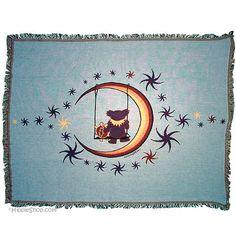 Grateful Dead - Moon Swing Throw Blanket