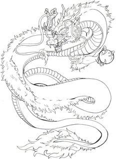 japanese dragon pattern | Japanese Dragon Tattoo Design