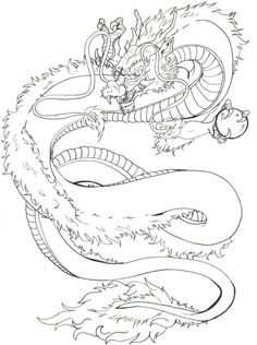 japanese dragon pattern | Japanese Dragon Tattoo Design