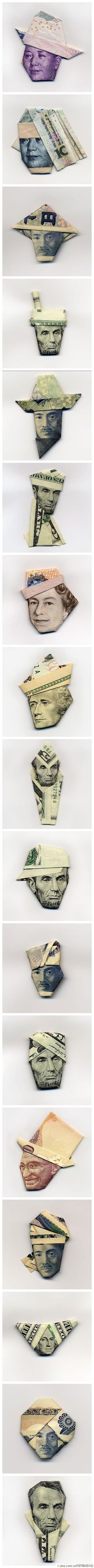 (AWESOME) Paper Money Figures