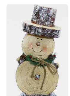 Wooden Christmas Crafts, Snowman Christmas Decorations, Christmas Ornament Crafts, Christmas Projects, Christmas Toys, Holiday Crafts, Wooden Snowman Crafts, Wood Snowman, Christmas Tables