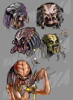 predator favourites by pepsijunkies on DeviantArt
