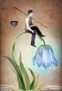 """ The Gift of Rain "" by Christian Schloe"