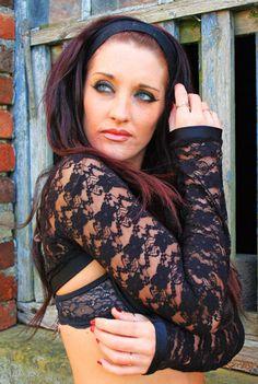 lace net sexy shrug top jacket bright punk goth cyber rave wear club wear plur lots of colours by FunkiBClubwear on Etsy https://www.etsy.com/ca/listing/209822048/lace-net-sexy-shrug-top-jacket-bright