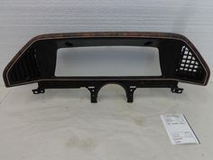 Ford F150 Dash Instrument Cluster Bezel Woodgrain Finish 87 88 89 91 90 Bronco #Ford