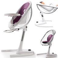 mima moon Aubergine highchair 0-45 kg... gives more color to your life
