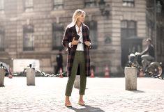 Valerie Leberichel: abrigo oversize para un look working girl #oversizecoat #tendencias #bloggers #streetstyle