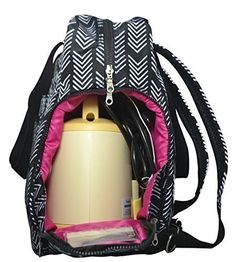The Sarah Wells bag has a special compartment for your pumping equipment and doubles as a tote or backpack.