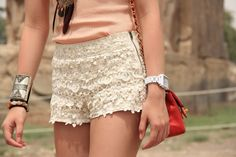 Lovely in lace.
