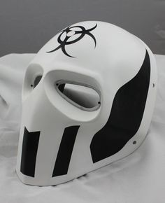 Cool White Prop Paintball Airsoft Full Face PC Lens Eye Protection Skull Mask | eBay