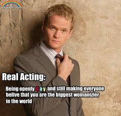 Neil Patrick Harris plays the most perfect Barney Stinson EVER.