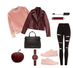 """""""osz"""" by lillus-lako-ll on Polyvore featuring Topshop, Maje, Vans, Skagen, Chanel and Burberry"""