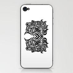 Gemini iPhone & iPod Skin by Mario Sayavedra - $15.00