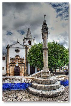 ÓBIDOS (Portugal): Pelourinho de Óbidos