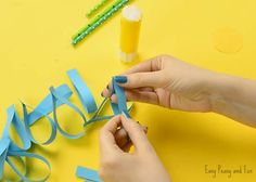 Paper Flower Craft - Easy Peasy and Fun