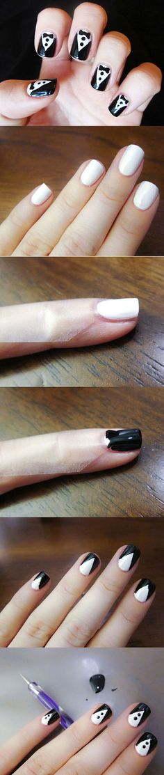 25-Best-Easy-Nail-Art-Tutorials-2012-For-Beginners-Learners-20