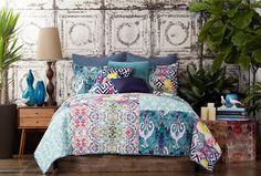 Spice up the bedroom with theboho chic patternmixing seen in thisTracy Porter Florabella Comforter Set.$200, Nordstrom.