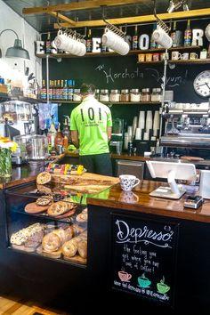 Espresso Bar in Greenville SC | Cafes | Restaurants | Coffee Shops | #cafes #restaurants #cafesintheworld | www.foragekitchen.com