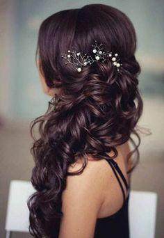 Wedding Hair Styles Side Swept Wedding Hairstyles To Inspire  Pinterest  Wedding Hair