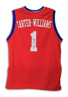AAA Sports Memorabilia LLC - Michael Carter-Williams Philadelphia 76ers Autographed Red Jersey, #philadelphia76ers #76ers #sixers #michaelcarter-williams #nba #nbacollectibles #sportscollectibles #autographedmemorabilia $287.95 (http://www.aaasportsmemorabilia.com/nba/michael-carter-williams-philadelphia-76ers-autographed-red-jersey/)