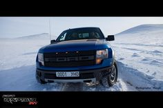 Ford Raptor in Mongolia