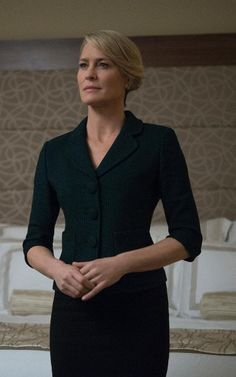 Kemal Harris: how I created Claire Underwood's power wardrobe in 'House of Cards'