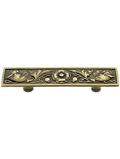 Hardware For Furniture. Poppy Flower Drawer Pull   Center To Center