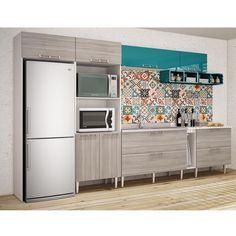 Gostou desta Conjunto Cozinha 02 Fresno/Verde P3 - Art In Móveis, confira em: https://www.panoramamoveis.com.br/conjunto-cozinha-02-fresno-verde-p3-art-in-moveis-6597.html