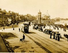 Image result for EDWARDIAN MORECAMBE British Seaside, Morecambe, Great British, Family Memories, Lancaster, Vintage Images, Paris Skyline, Spa, Street View