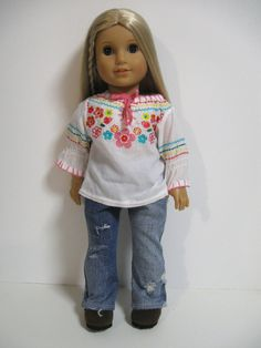 American Girl Doll Clothes Retro  by 123MULBERRYSTREET on Etsy, $24.00