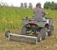 Mountain Farm Small Farm Tillage & No Till Equipment ~Article from Hobby Farms Magazine Farm Tools, Garden Tools, Permaculture, Accessoires Quad, Farm Business, Homestead Farm, Future Farms, Mini Farm, Backyard Farming