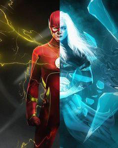 Flashfrost fanart by bosslogic Barry Allen & Caitlin Snow O Flash, Flash Art, Batman, Superman, Barry And Caitlin, Hero Tv, Flash Tv Series, Flash Wallpaper, The Flash Grant Gustin