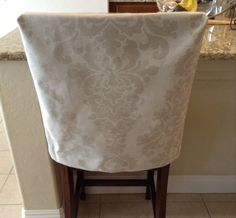 Kitchen Chair Slipcover Chair Back Cover By BrittaLeighDesigns | Home  Decoration | Pinterest | Chair Slipcovers, Kitchens And Decorating