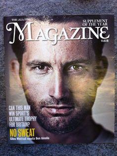 The Times Magazine - 11.07.15 - Featuring Ben Ainslie, Alesha Dixon. SOHO!