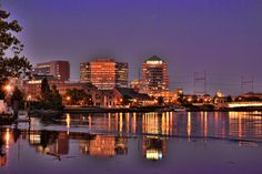skyline – Cities Of This World 2 In, Cities, Beautiful Places, Skyline, River, World, Creative, Photos, Outdoor