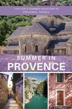 Provence is beautiful in summer and it's the perfect place for a small roadtrip. Find in the blog post some travel tips and many photos taken during our roadtrip. #provence #roadtripprovence #summerroadtrip #provencetips