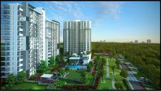 It is a luxury gated community that would rise above the Mumbai.