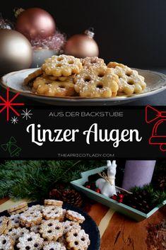 Linzer Augen - Kekse für Weihnachten #kekse #weihnachten #backen #xmas #christmas
