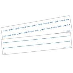 Magnetic Demonstration Open Number Line Use dry-erase